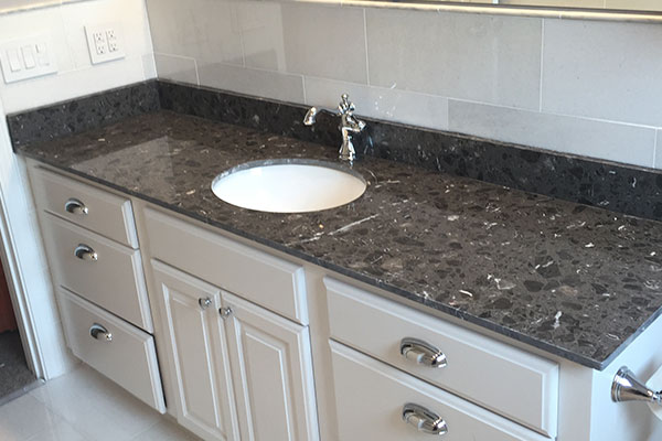marble bathroom sink counter top
